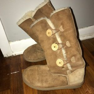 Button Ugg Boots